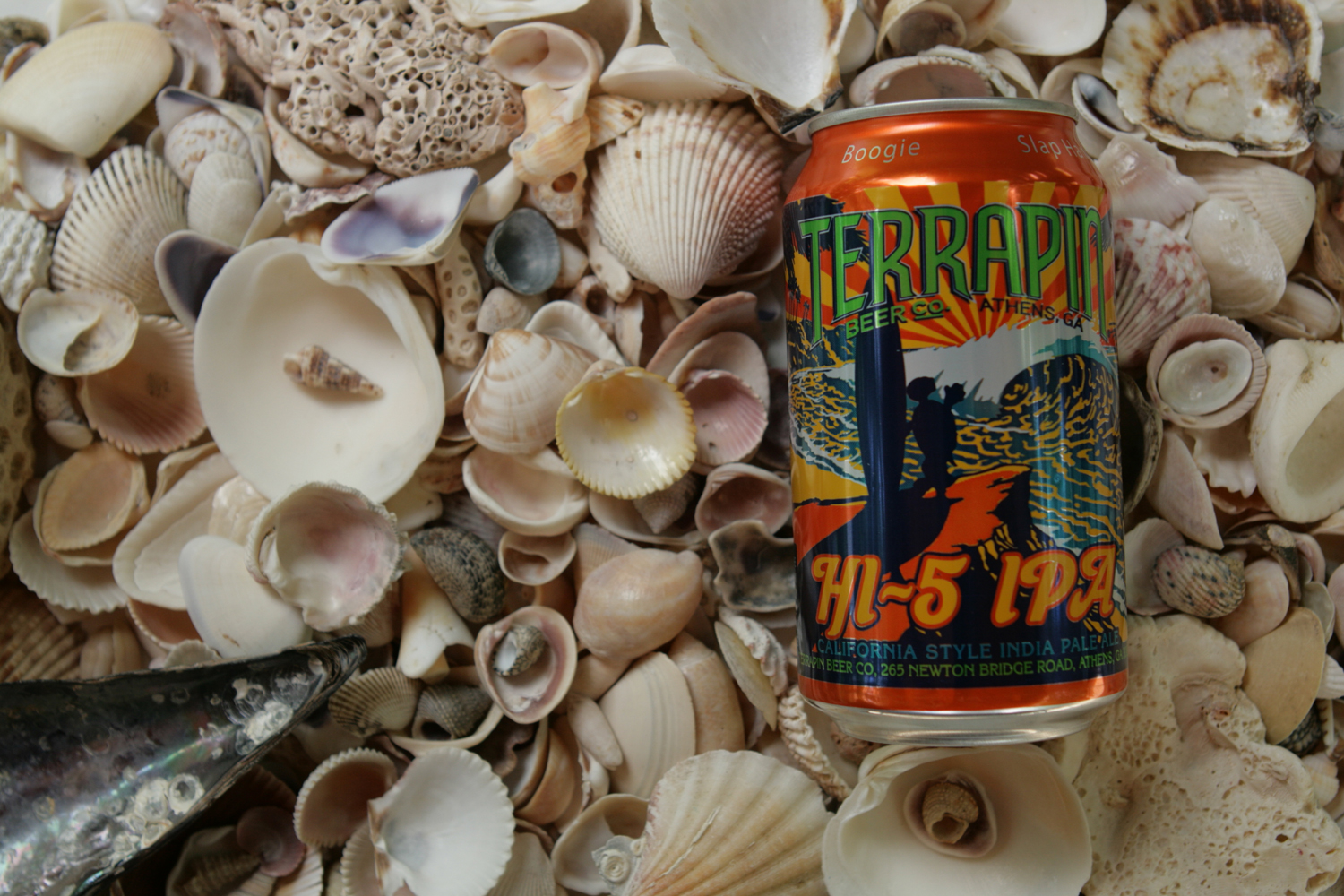 Terrapin California IPA beer is a great way to spend a summer day.