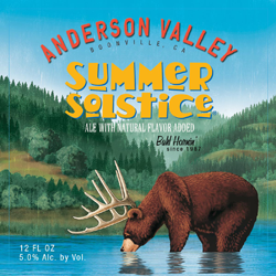 Anderson Valley's Summer Solstice is the summer cream ale.