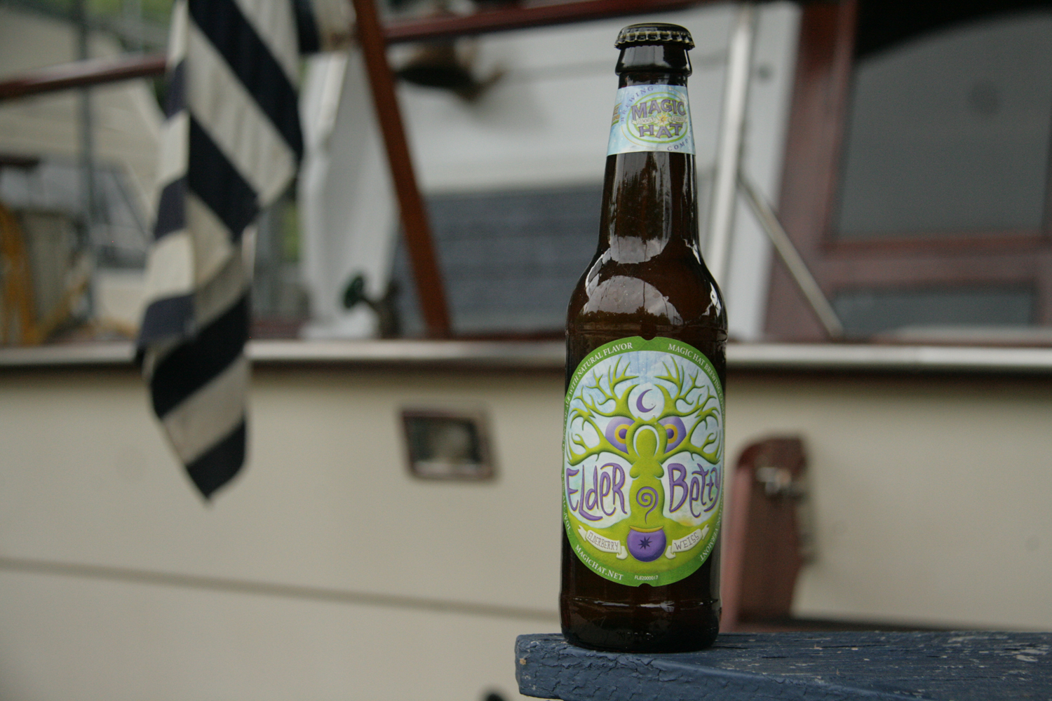 Elder Betty from Magic Hat is a refreshing elderberry summer beer.