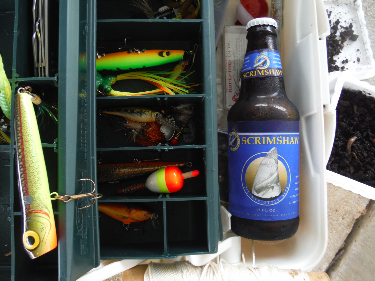 Scrimshaw is a well crafted North Coast summer German pilsner.