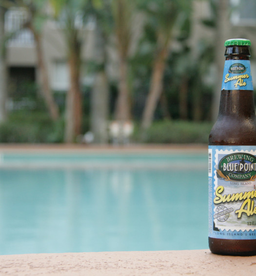 Drink Summer Golden Ale beer from Blue Point.