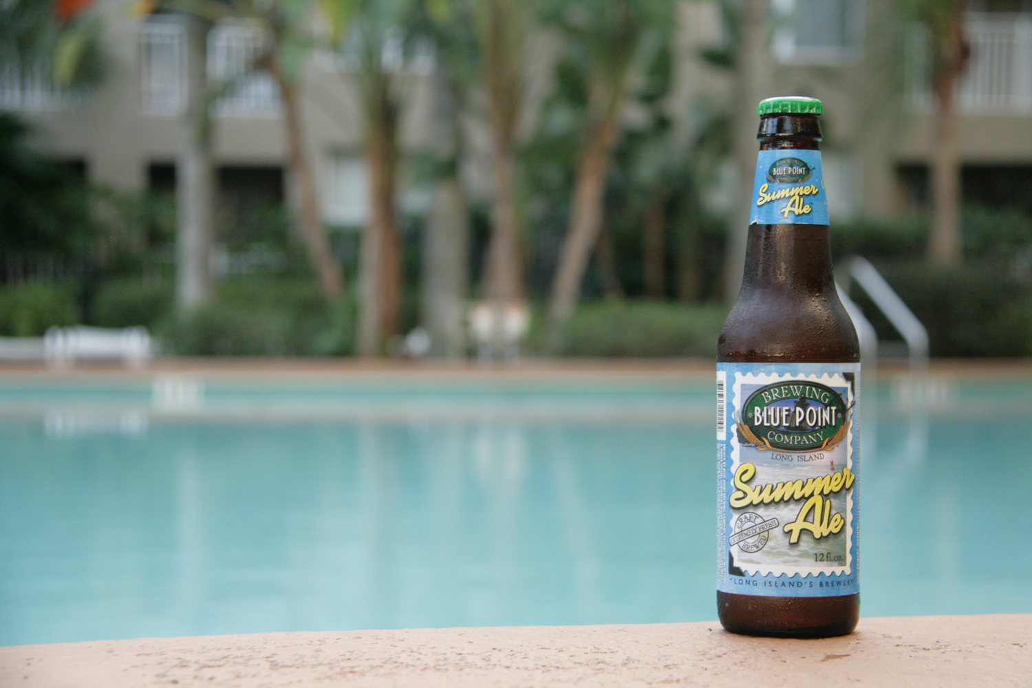 Drink Summer Golden Ale beer from Blue Point Brewing.