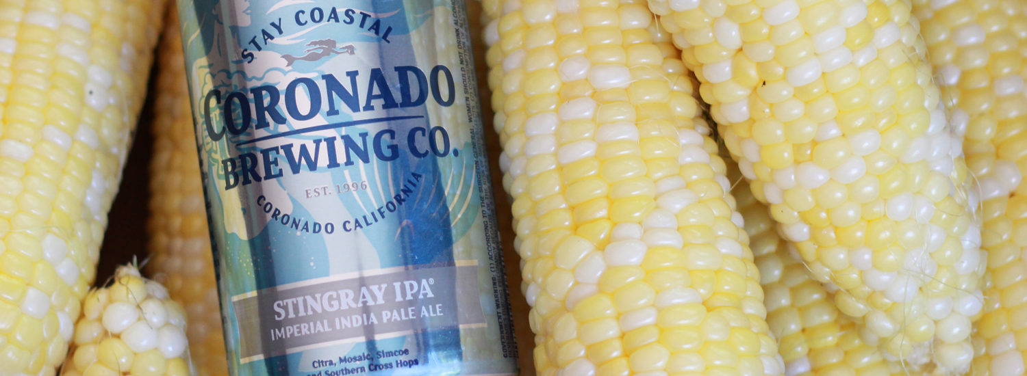 Coronado Brewing Stingray Imperial India Pale Ale.