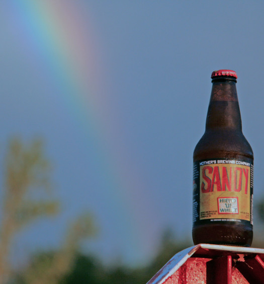 Mother's Sandy is a great summer Missouri beer for around the water.