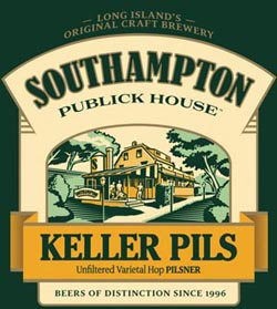 Southampton's Keller Pils is a seasonal summer New York beer.