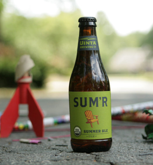 Sum'r summer organic beer is a delicious way to spend the season.