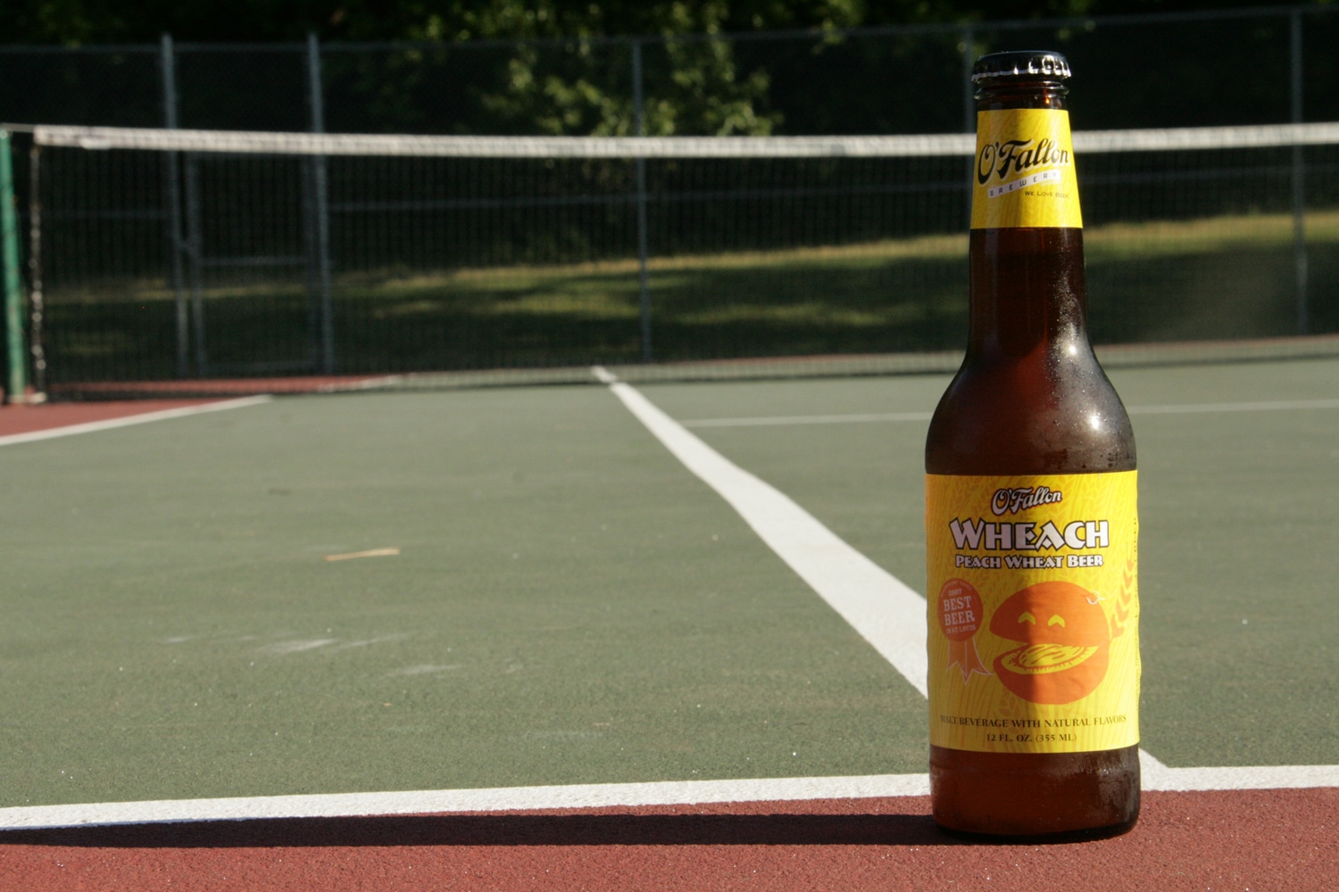 Weach peach summer beer is a fruit beer with flavor.