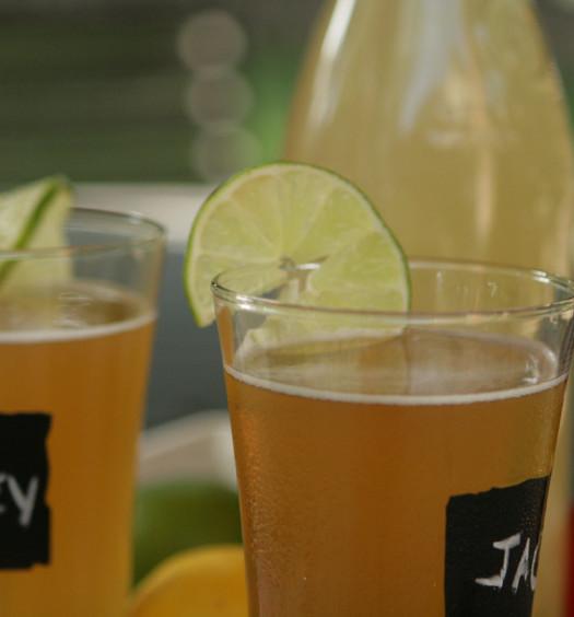 Enjoy a lemonade summer shandy this summer.