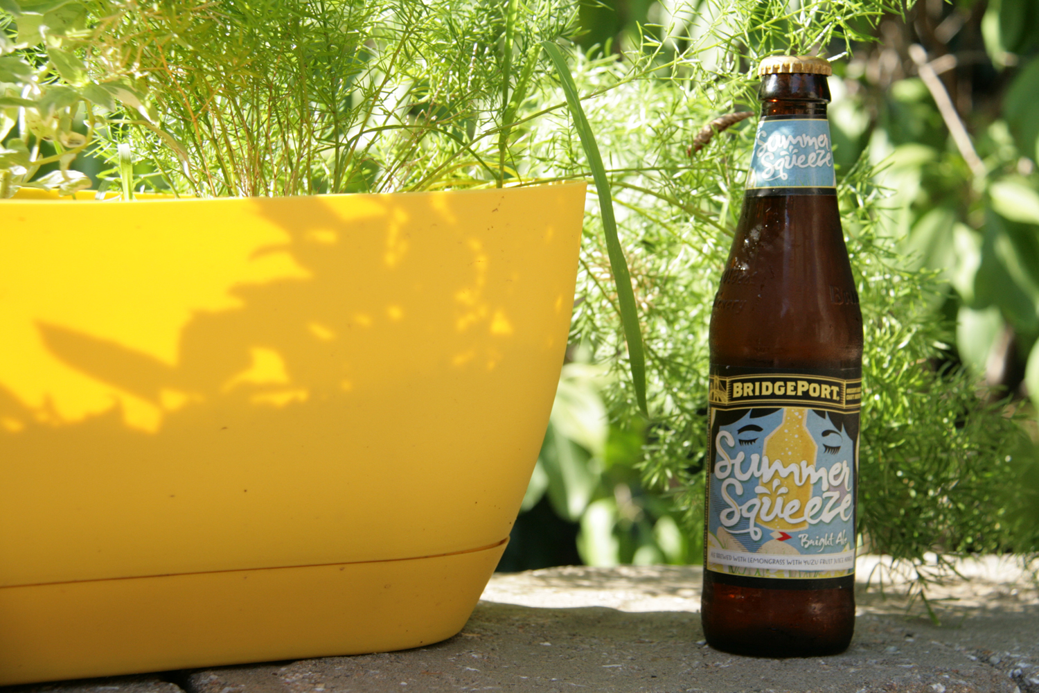 Summer Squeeze is a fruit beer enhanced with lemon.