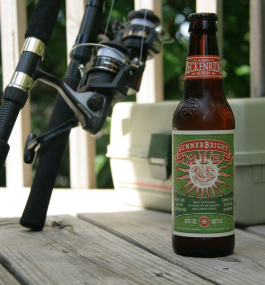 Enjoy Breckenridge's SummerBright summer ale in the sun.