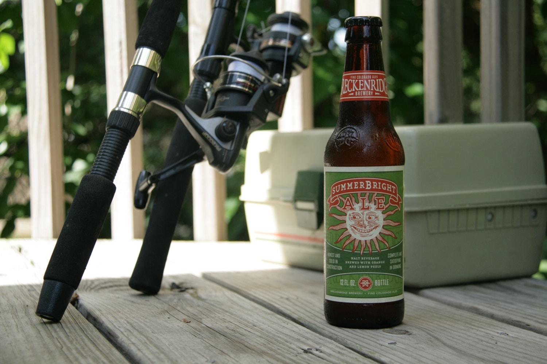 Enjoy Breckenridge's SummerBright summer ale in the sun.