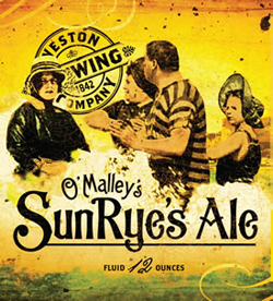 SunRyes from Weston is a summer rye beer.