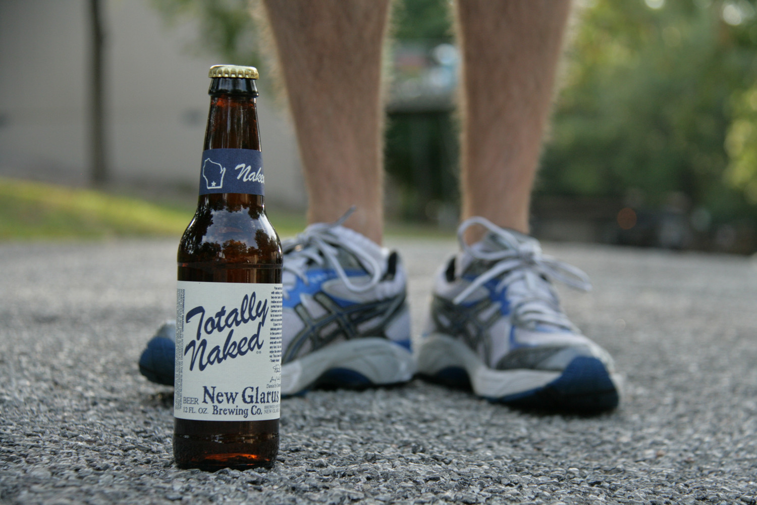 Get Totally Naked summer beer for after a long run.