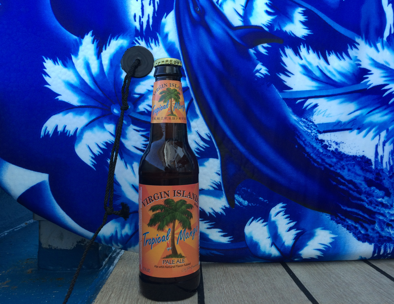 St. John's Brewers Tropical Mango beer pale ale is perfect for a hot day.