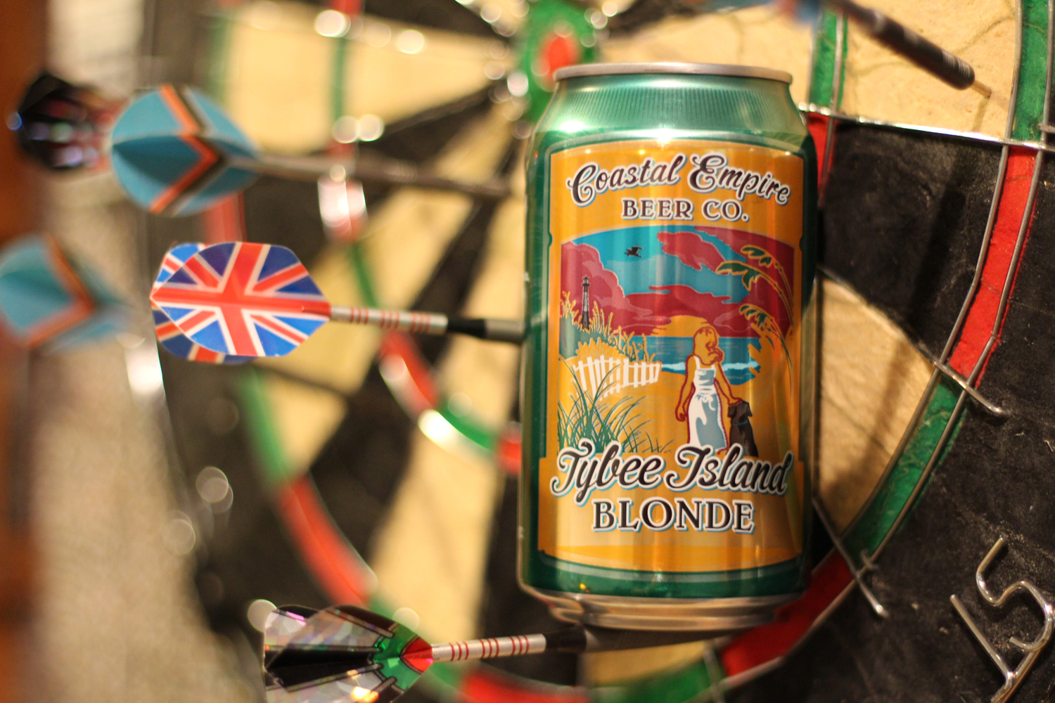 Tybee Island Beer is a great summer blonde from Coastal Empire.