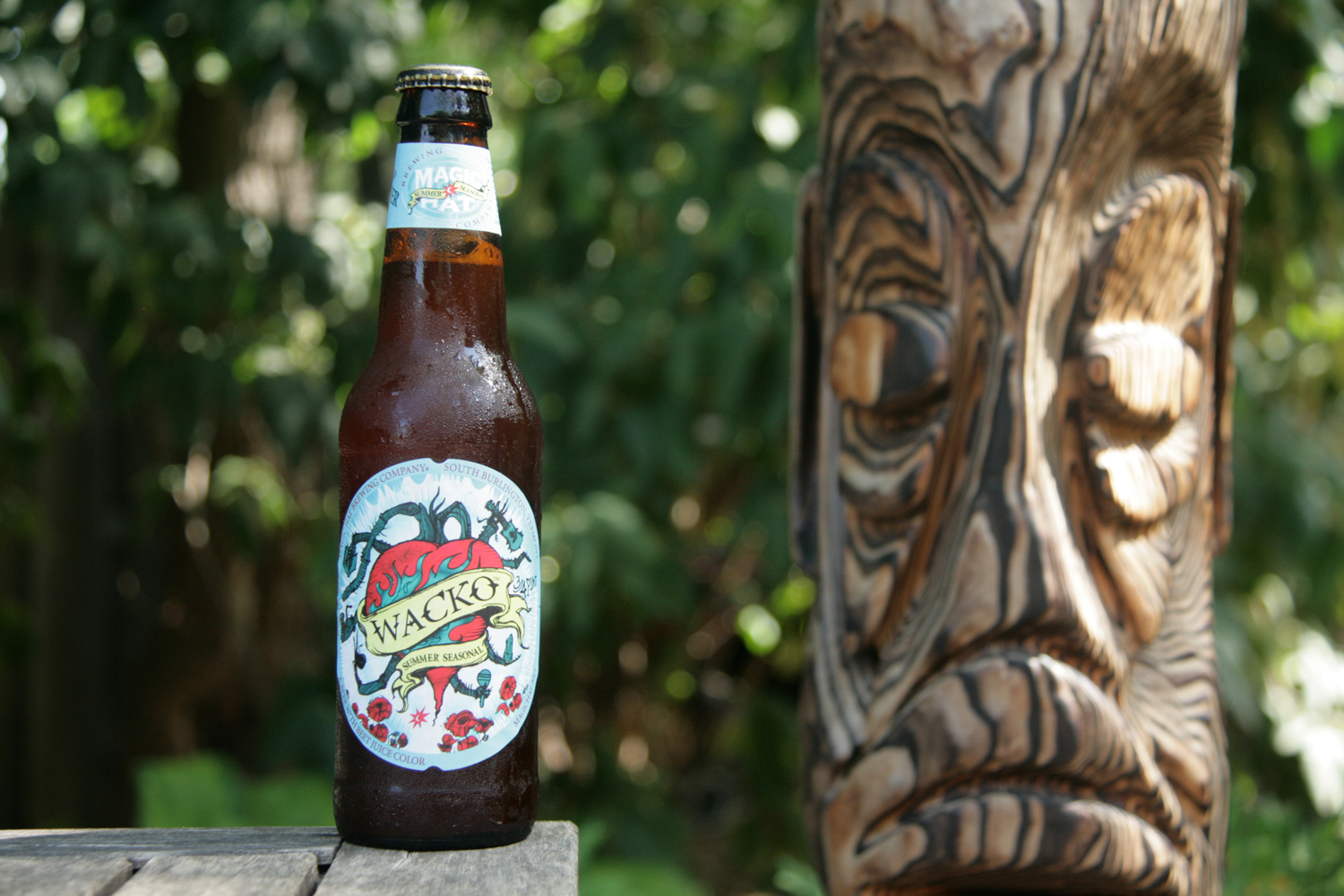 Wacko summer vegetable beer from Magic Hat is made with beet juice.