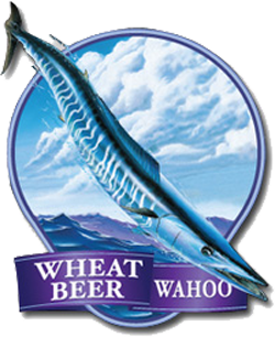 Ballast Point Wahoo Wheat summer San Diego beer.