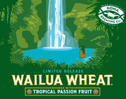 Kona Wailua Wheat Hawaii beer is so refreshing on a hot summer day.