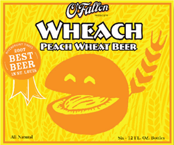 O'Fallon's Weach is a summer peach beer.