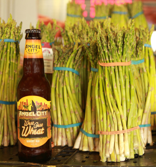 Angel City West Coast Wheat is a fresh summer pale wheat ale