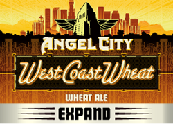 Angel City Brewery West Coast Wheat is a Summer Pale Wheat Ale.