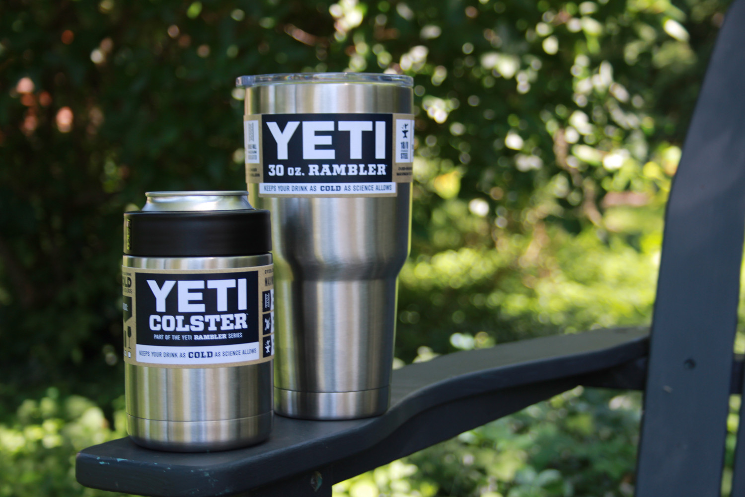 Yeti coolers keep all of your beverages cold, or hot this summer.