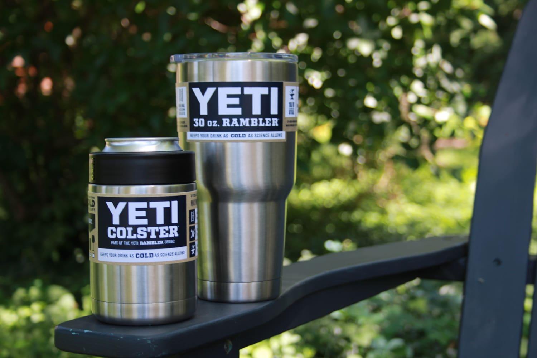 Yeti Drink Cooler Rambler Tumbler Amp Colster Gt Cold Beer