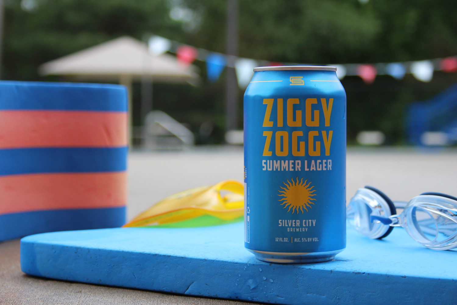 Ziggy Zoggy summer Zwickelbier is from Silver City Brewery.