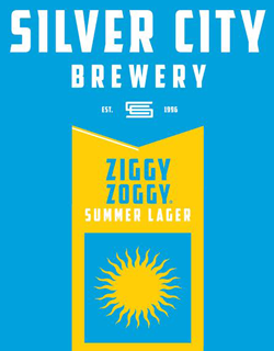 Silver City's Ziggy Zoggy Summer Zwickelbier for the pool.
