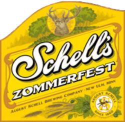 Schell's Zommerfest is a great summer lawnmower beer.