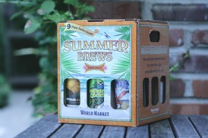 World Market Summer Beer pack is a great way to taste several beers.